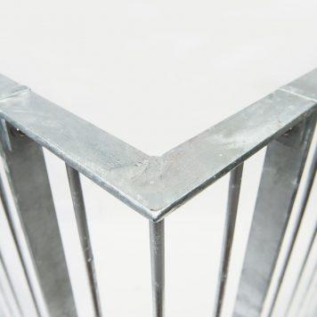 Galvanisert rekkverk modell 30 hjørne - Bolig Engros AS