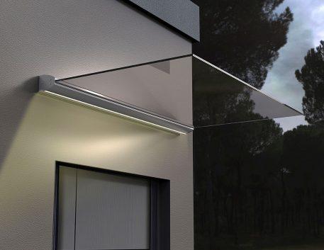 Baldakin med LED-lys 190800 - Bolig Engros AS