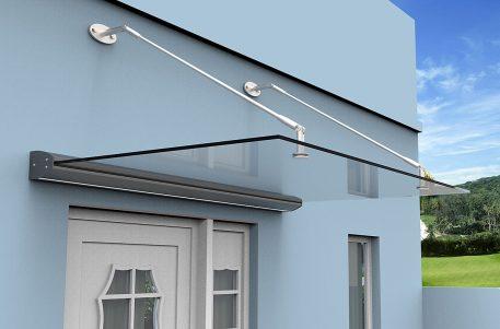 Glassbaldakin med integrert LED-lys - Bolig Engros AS