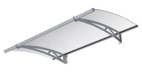 Skjermtak i aluminium og polykarbonat - Bolig Engros AS